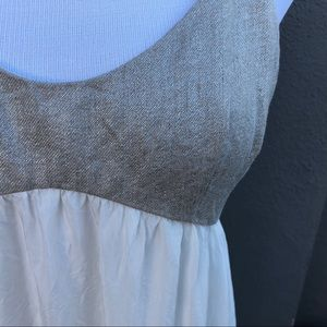 L'AGENCE Dresses - L' AGENCE White & Gold Maxi Dress